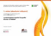 Infotherma 2013 - diplom absolútne víťazstvo