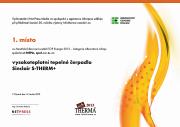 Infotherma 2013 - diplom 1.miesto