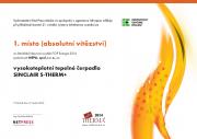 Infotherma 2014 - diplom absolútne víťazstvo