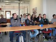 Průběh školení studentů VUT
